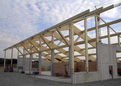 Hallen-Gewerbebau